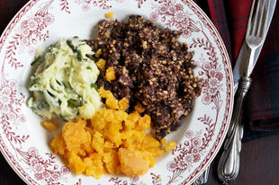 A Scottish feast for Burns Night