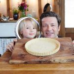 sweet pastry case with jamie and his son