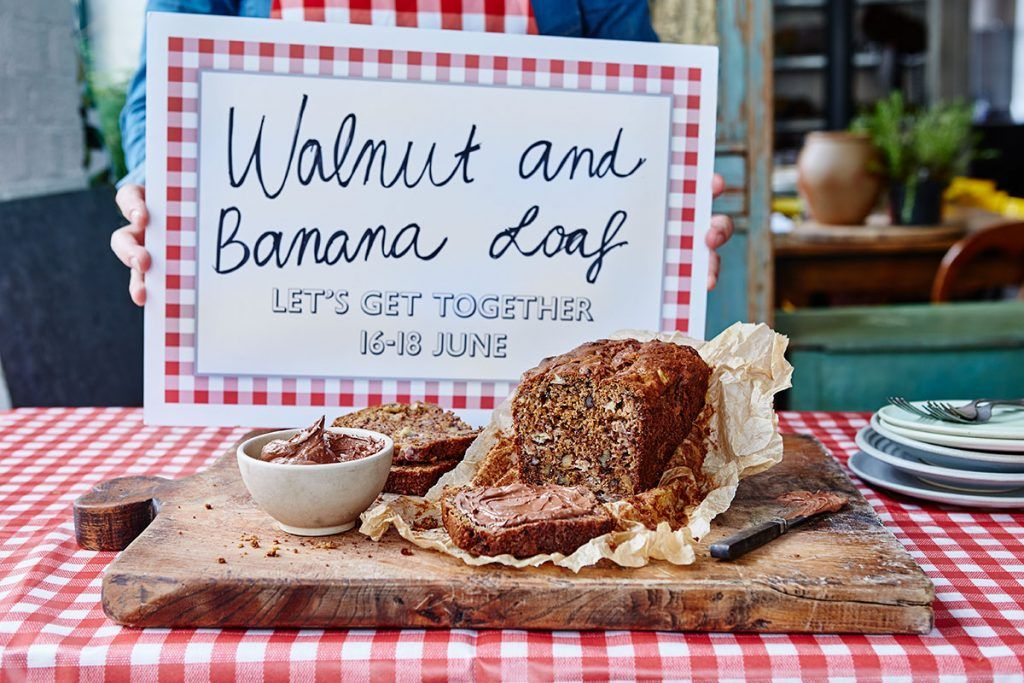 great get together - a walnut and banana loaf