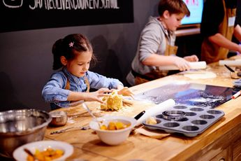 DIY kids' party food