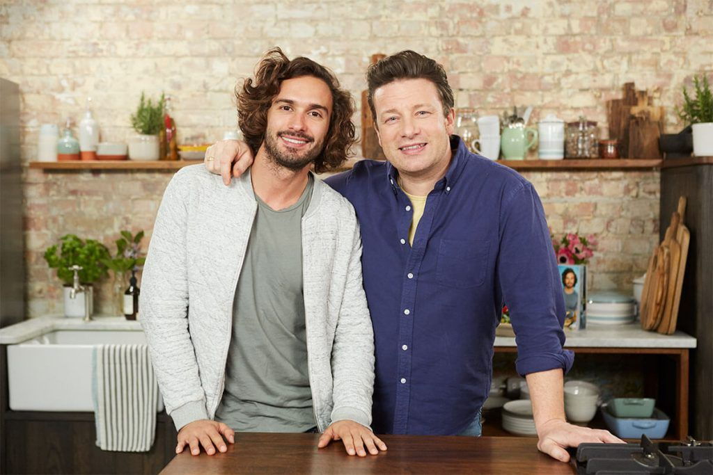 Joe Wicks and Jamie Oliver do a Q&A