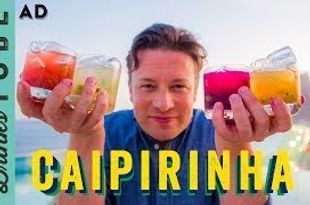 Jamie's Brazilian Caipirinha - FOUR Ways!