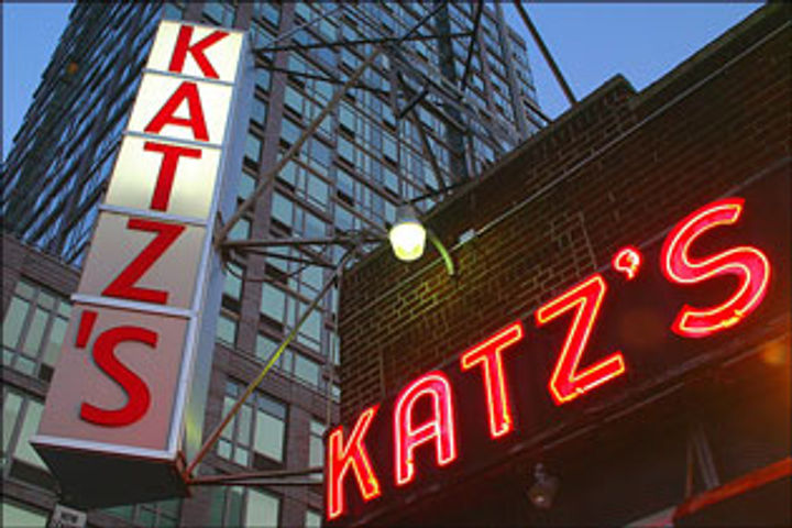 katz sign in lights
