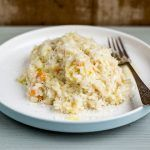risotto recipe with cheese grating
