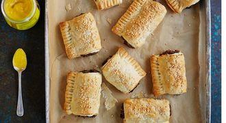 Vegan sausage rolls: Kerryann Dunlop