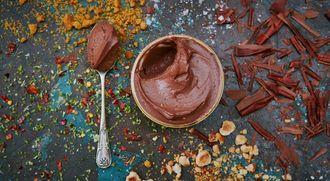 Vegan chocolate pots: Jamie Oliver