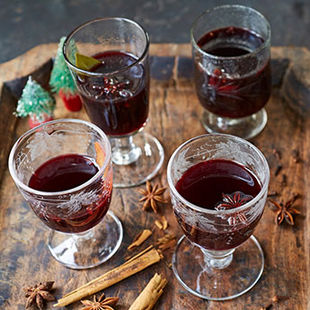 There's nothing better than a spiced, warming glass of mulled wine