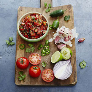 A tomato salsa to eat with everything (except maybe porridge)