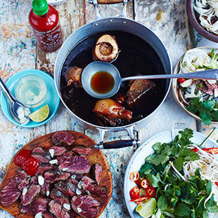 Rustle up a Vietnamese street food feast at the Jamie Oliver Cookery School