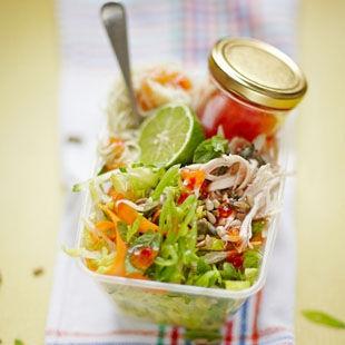 A punchy crunchy noodle salad