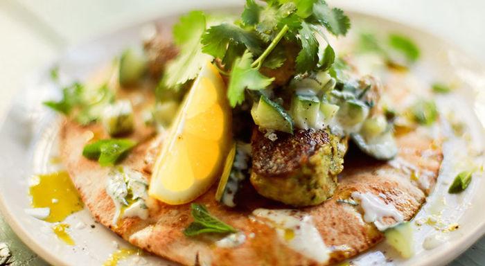 Vegan kofte kebabs : Tim Shieff