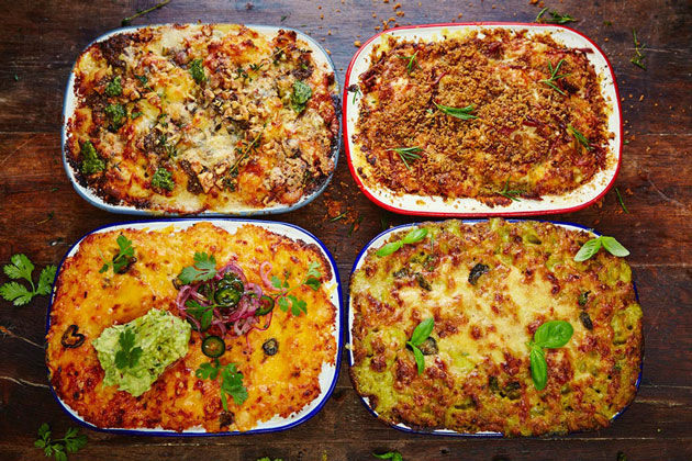 mac 'n' cheese - 4 different recipes