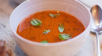 Homemade tomato soup: KerryAnn Dunlop