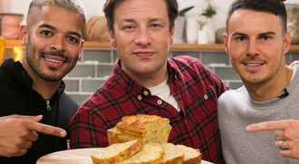 Super-food protein loaf:  F2 Freestylers & Jamie Oliver