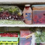 food waste feature - a fridge filled with food