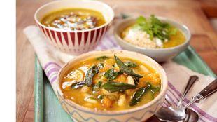 Easy vegetable soup 3 ways