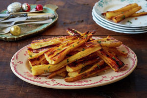 How to make roast parsnips