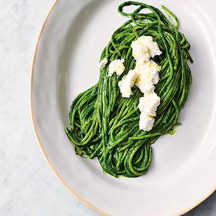 Super-speedy, super-green spaghetti