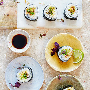 Just (sushi) roll with it at the Jamie Oliver Cookery School