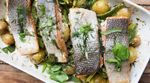 Simple tray baked salmon: Bart's van Olphen