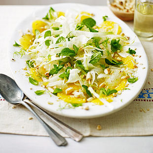 This fresh fennel salad is a great way to balance out any seasonal overindulgence!