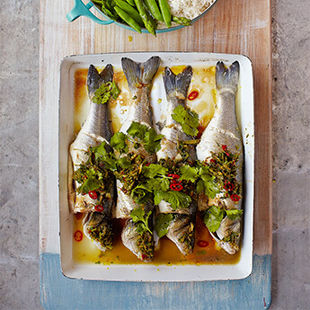 Learn how to cook fish like a pro at the Jamie Oliver Cookery School – book now!