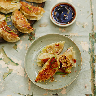 Give gyoza a go at the Jamie Oliver Cookery School – book now!