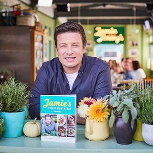 A sneak peek at Jamie's Friday Night Feast Cookbook
