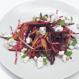 This fresh beetroot salad is packed with texture and flavour