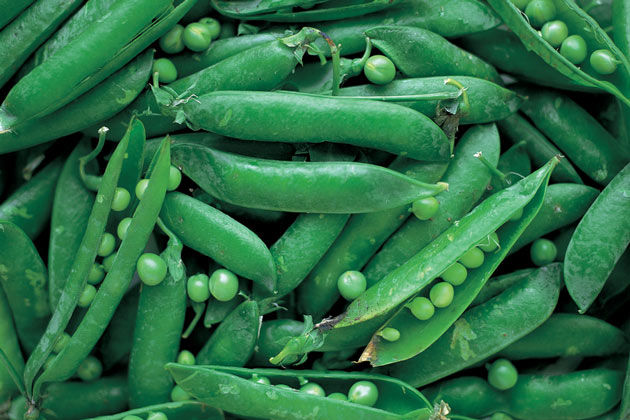 Seasonal vegetables: Peas