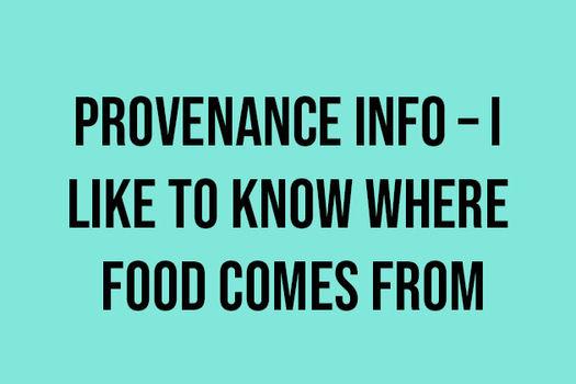 Provenance info quiz text