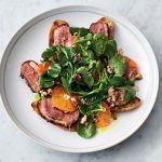 salad recipes feature - roast duck and orange salad