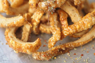 How to make crunchy pork scratchings