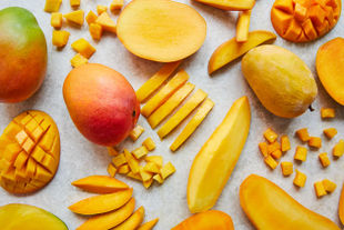 How to cut and slice a mango