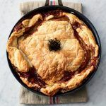 Chicken pot pie in a pan, the perfect Easter lunch idea easter