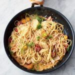 Fennel and crab linguine - a perfect summer pasta recipe