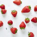 Summer berry recipes - strawberries on a table