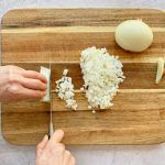 How to chop an onion: Step 6