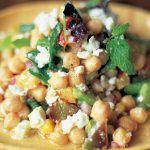veggie recipe - chickpea and feta salad