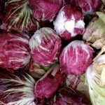 chicory, radicchio and endive in a pile