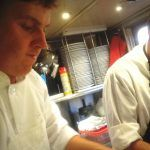 2 chefs cooking