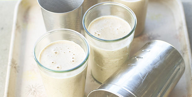 milkshake in glasses
