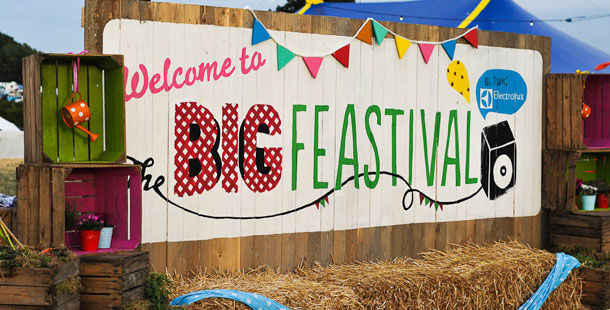 big feastival banner