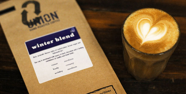 winter blend coffee roast drink