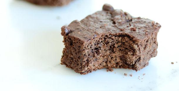 fruit sweetened brownies