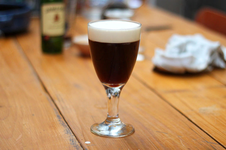 St Patrick's Day Irish Coffee