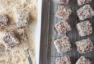 Celebrate Australia Day with homemade lamingtons