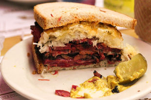 USA: the Reuben sandwich