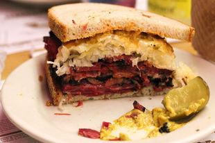 USA: the Reuben sandwich