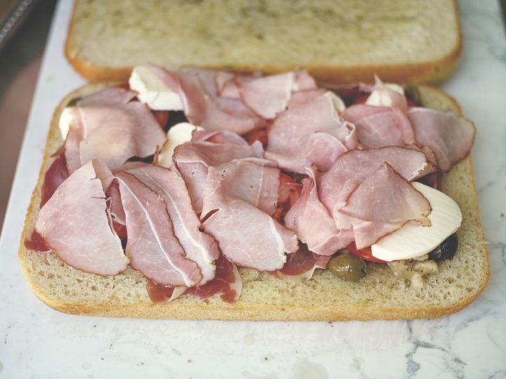 picnic bread muffuletta